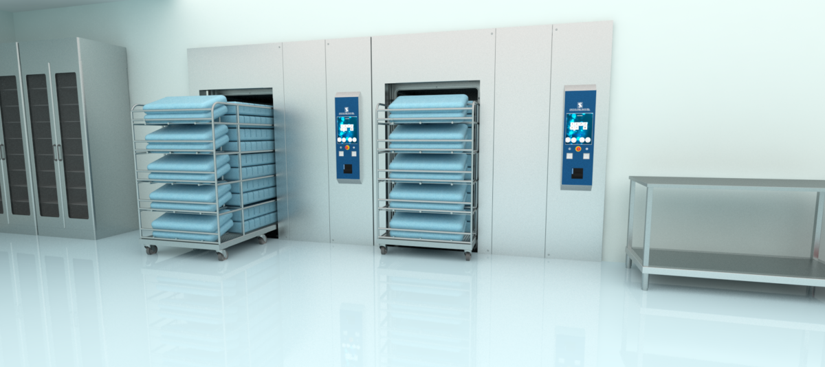 Steam disinfection systems